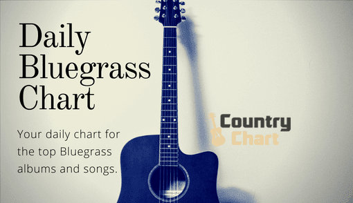 bluegrass music, daily bluegrass chart, bluegrass albums, bluegrass songs, countrychart.com