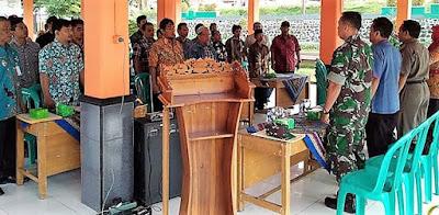 Indonesia Raya Berkumandang di Setiap Gelaran Non Fisik TMMD