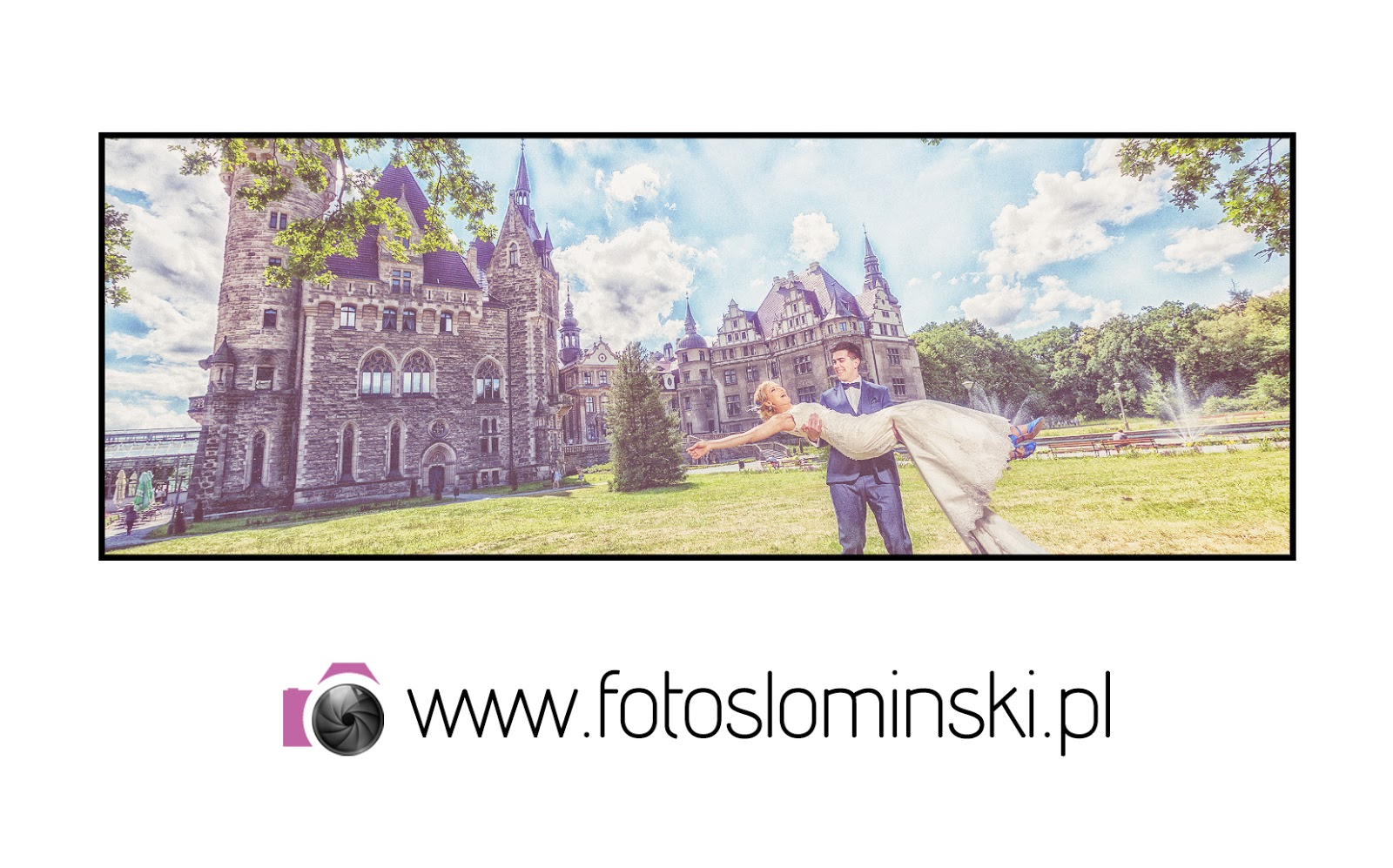 Fotografia ślubna - Kasia i Mikołaj - ślub Karczma Miłocin - Sesja plener Zamek Moszna. Album ślubny.