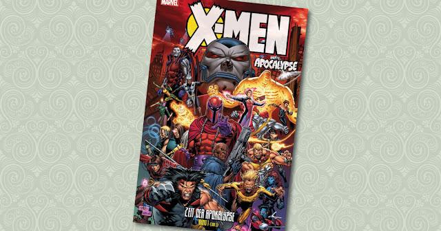 XMen Zeit der Apokalypse Panini Cover