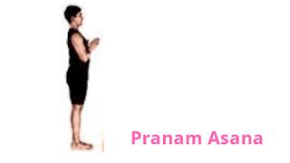 Surya Namaskar Steps  ,yoga