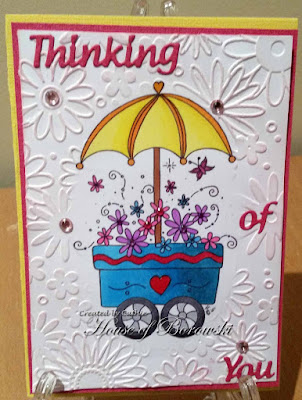 Diecut Divas, Stamping Boutique Flower Cart