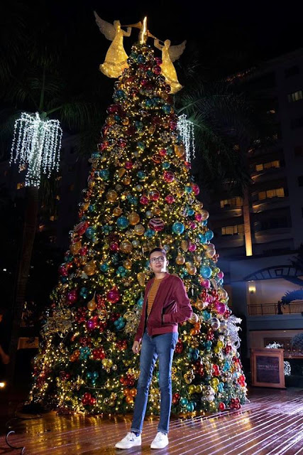 Christmas Tree in Jpark Island Waterpark Cebu. Pic by Sinjin Pineda