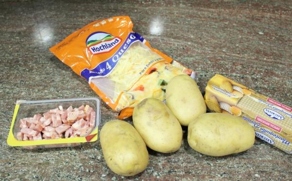 Patatas al estilo Hasselback, receta paso a paso con fotografías