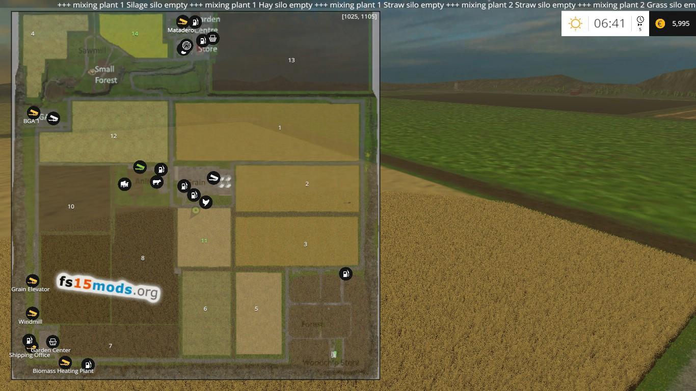 Hobbs farm map version 35 FS15 Mods