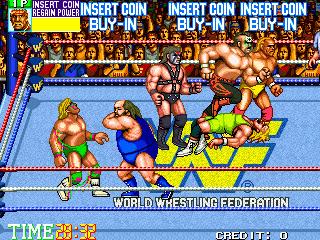 WWF WrestleFest Game