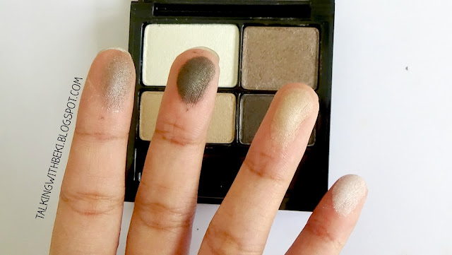 Revlon Colorstay Eyeshadow Swatches