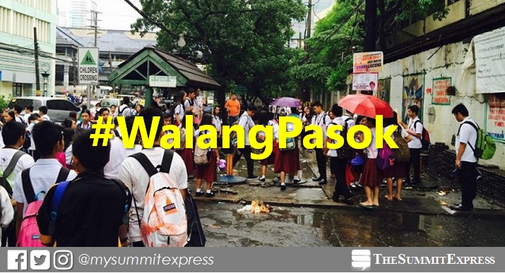#WalangPasok: Class suspensions on Monday, September 3, 2018