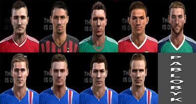 Facepack 2016 V.24 Pes 2013 By Pablobyk