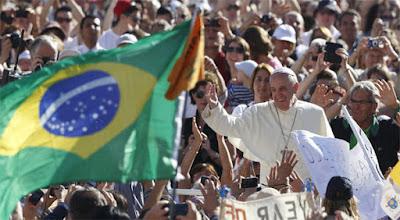Bolsonaro  vs.  Papa Francisco
