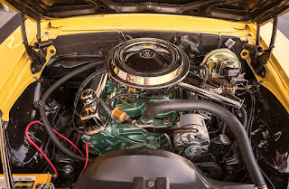 1969 Pontiac Firebird Sport Coupe Engine