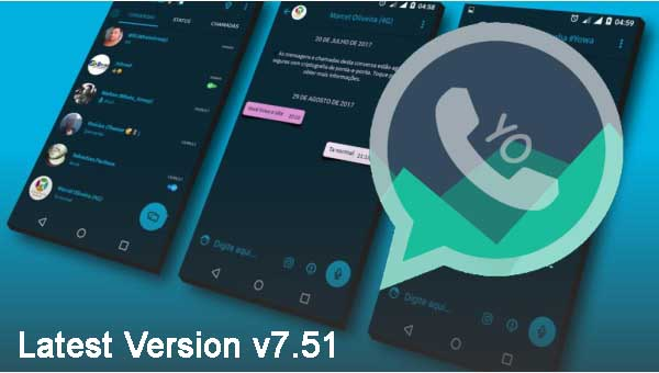 Yo WhatsApp Latest Version v7.51 APK Free Download 2018 (Official APP)