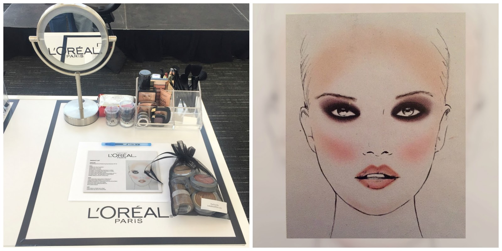 L'Oréal event 2016, L'Oréal make up to try, make up class