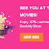 BookMyShow Instant Voucher 20% Off – Amazon