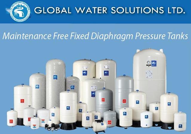 Pressure Tank GWS 60 Liter