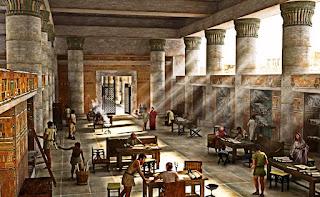 Riassunto sulla prima biblioteca del mondo
