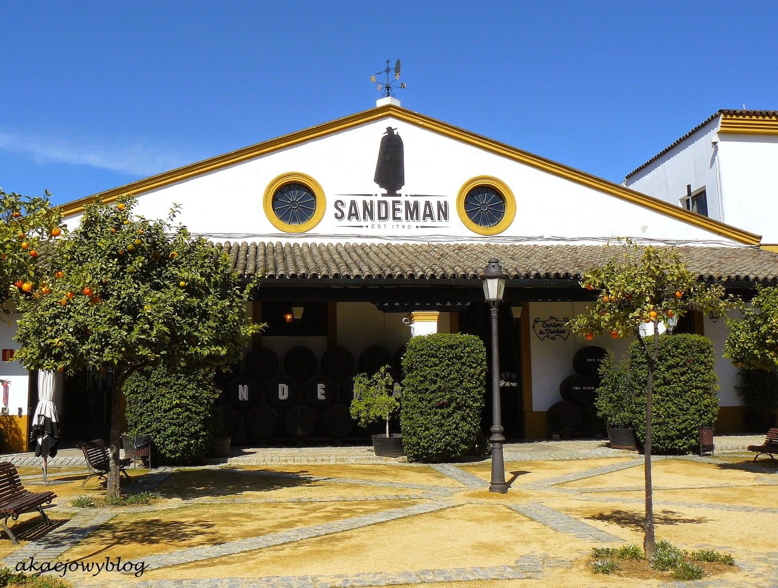 Andaluzja - produkcja sherry.