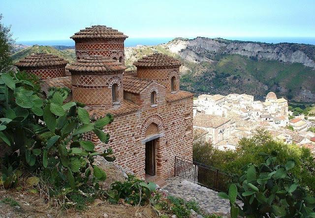 La Cattolica di Stilo na região da Calábria