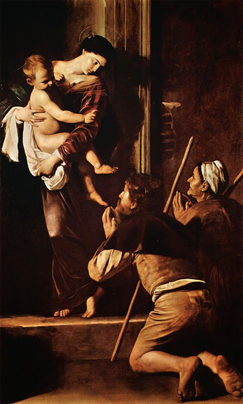 """Madonna dos Pelegrinos"", do Caravaggio, gênio do Barroco"