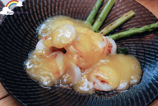 US Scallops with Tamago Sauce