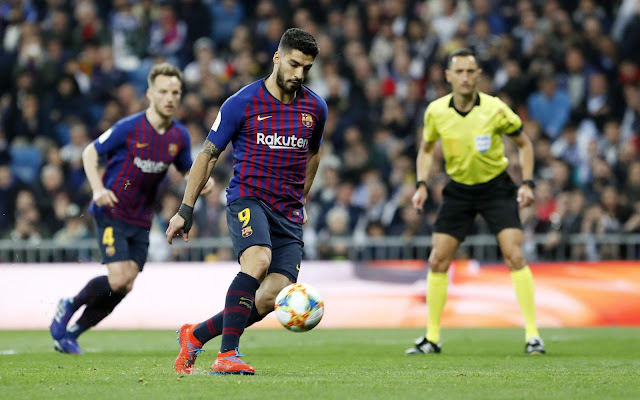 هدفان لبرشلونة أمام رايو فاليكانو