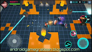 Game TPS top down view dengan size kecil dan ringan Game:  Rogue Gunner apk