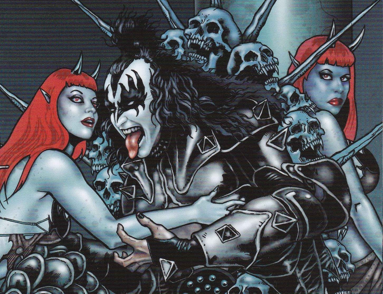 KISS Travels Back To The Future