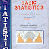 BASIC STATISTICS for Inter Classes  Part 1 [Text Book]