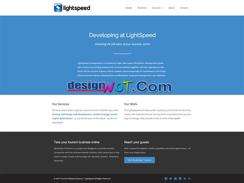 LSX minimalistic responsive WordPress theme