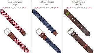 Cinturones Hackett