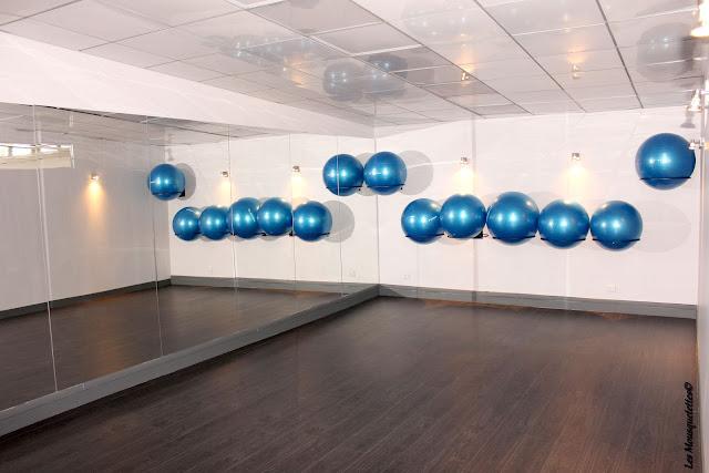 Salle de posturalBall- Origyn - Blog beauté Les Mousquetettes©