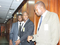 It was set up! See the two men who set up KETER for arrest! He was not even part of the team planning the Sh633 million heist