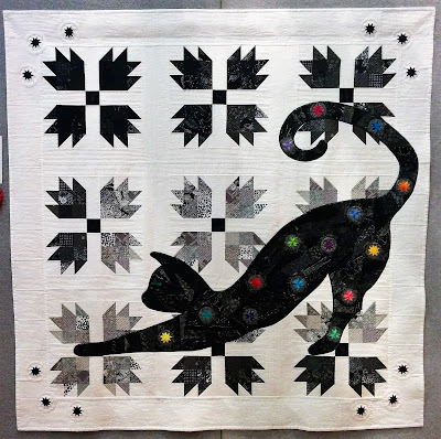 Creates Sew Slow: Creative Construction 2017 - Year of the Cat by Tracy Carew