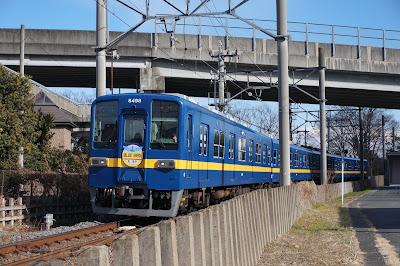 東武鉄道8000系フライング東上色