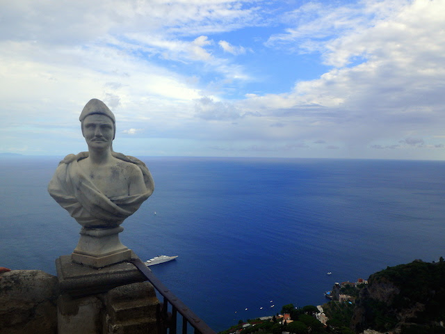 The Terrace of Infinity, Villa Cimbrone, Ravello
