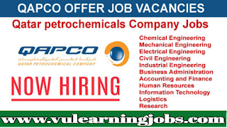 QAPCO - Oil And Gas - Jobs In Qatar