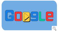 Google Doodle Sempena Sukan Olimpik Musim Sejuk 2018