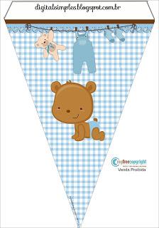 Ayıcık, Baby Shower, Bebek, ERKEK, Temalı Parti Malzemeleri, Mavi Ayıcık Temalı Doğum Günü Süsleri, Mavi Ayıcık Temalı Parti Seti, Baby Shower Süsleri,