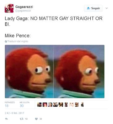 Lady Gaga: NO IMPORTA SI ES GAY, HETERO O BI.