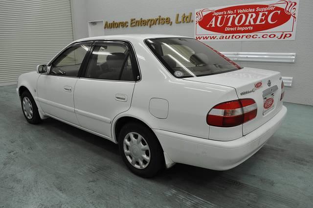 1998 Toyota Corolla Se Saloon L For Zimbabwe Japanese