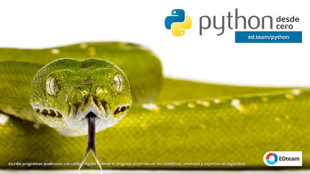 Curso Python Desde Cero (EDteam) MEGA
