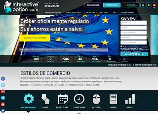 Revisión del broker Interactive Option