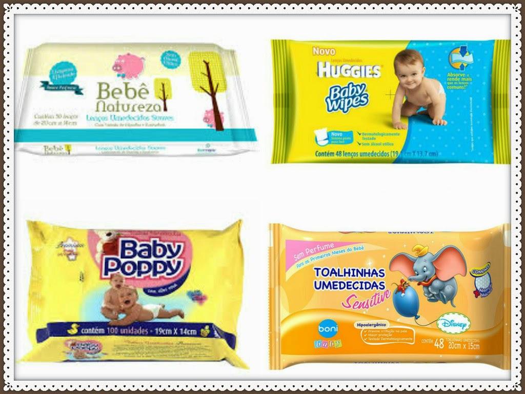 Lencinhos umedecidos Bons e Baratos para usar no seu bebê!