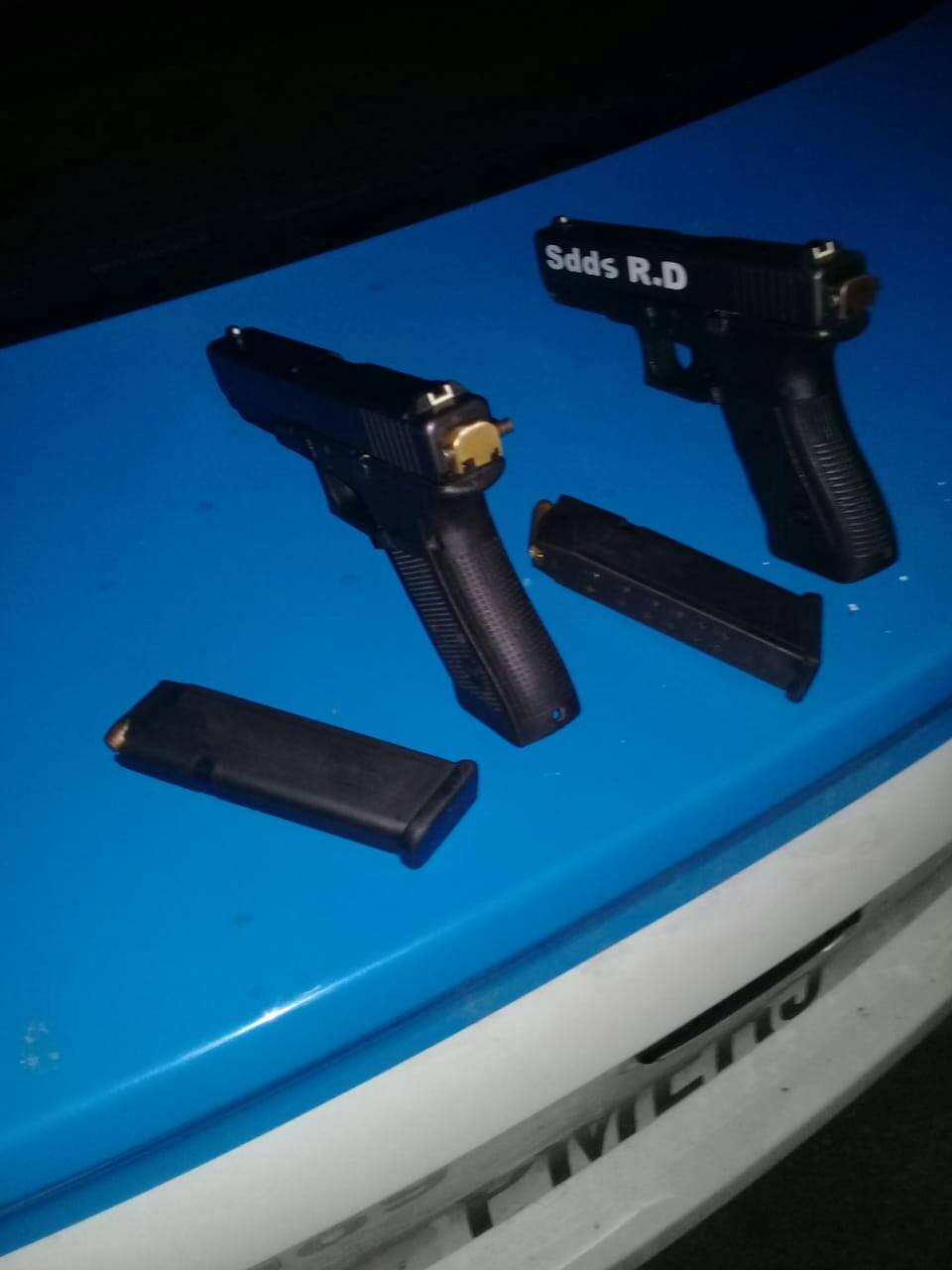 247a53346 A dupla é acusada de participar de roubo a Central de Distribuição das Lojas  Americanas, ...