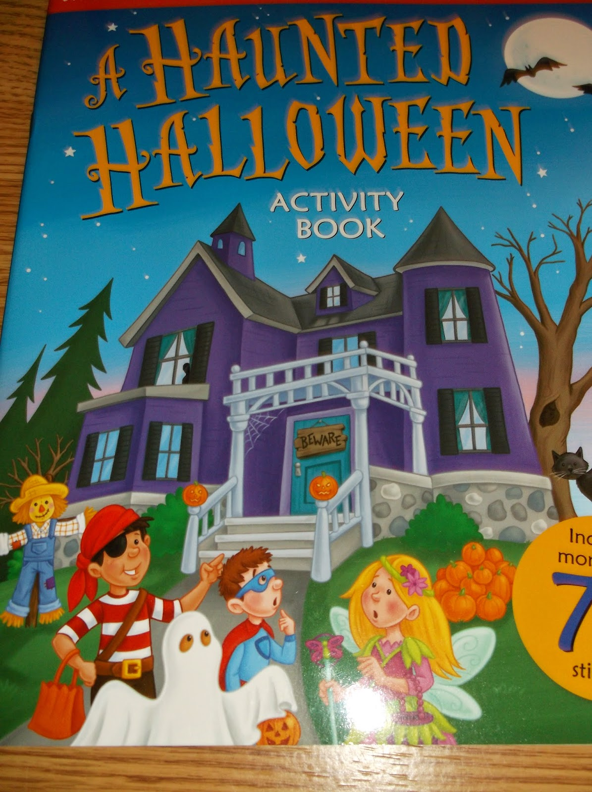 Missys Product Reviews A Haunted Halloween Activity Book By Peggy Schaefer And Illustrated By