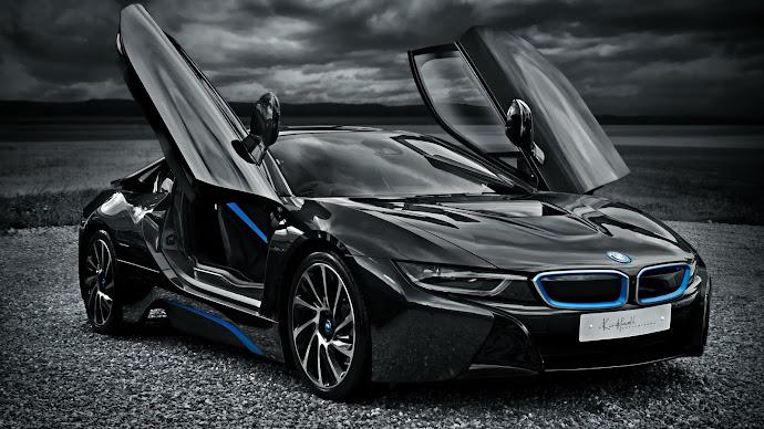 Wallpaper: Electric Car BMW i8