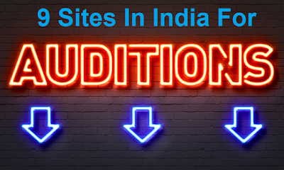 Where to find auditions in India