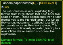 naruto castle defense 6.0 Tobirama Tandem Paper Bombs detail