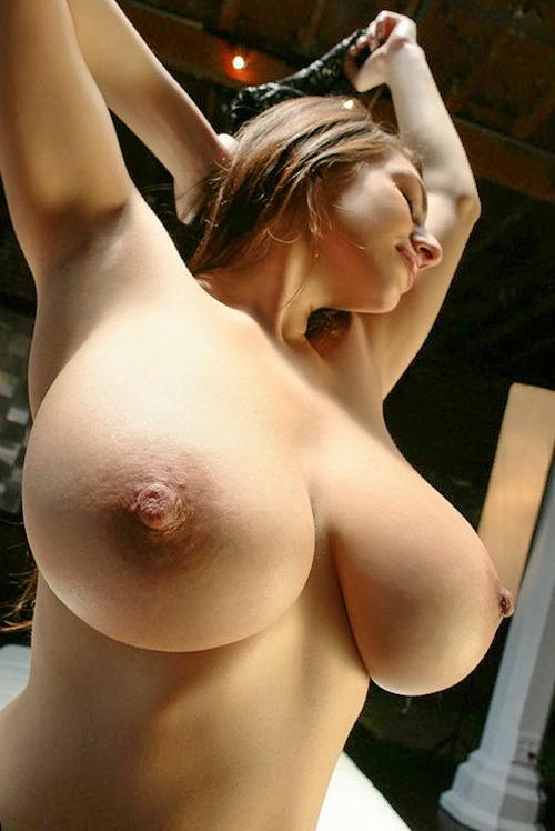 Huge tits huge areolas