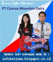 Lowongan Kerja Cimory Group